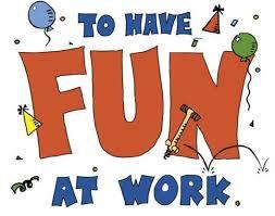 diversión en el trabajo